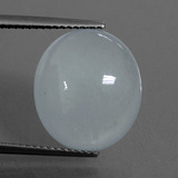 thumb image of 9.3ct Oval Cabochon Light Blue Aquamarine (ID: 414375)