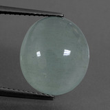 thumb image of 7.7ct Oval Cabochon Light Blue Aquamarine (ID: 414487)