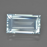 thumb image of 7.8ct Baguette Facet Light Blue Aquamarine (ID: 415532)