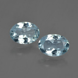thumb image of 1.4ct Oval Facet Light Blue Aquamarine (ID: 418510)