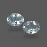 thumb image of 1.1ct Oval Facet Light Blue Aquamarine (ID: 418637)