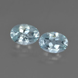 thumb image of 1.1ct Oval Facet Light Blue Aquamarine (ID: 418715)
