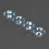 thumb image of 0.4ct Oval Facet Sky Blue Aquamarine (ID: 418742)
