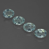 thumb image of 2.2ct Oval Facet Light Green Blue Aquamarine (ID: 418811)