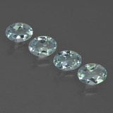 thumb image of 1.8ct Oval Facet Light Green Blue Aquamarine (ID: 418814)