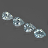 thumb image of 3.8ct Pear Facet Light Blue Aquamarine (ID: 419008)