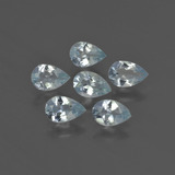 thumb image of 2.1ct Pear Facet Light Blue Aquamarine (ID: 419067)