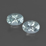 thumb image of 1.3ct Oval Facet Light Green Blue Aquamarine (ID: 419298)