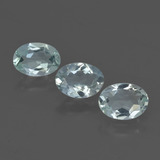 thumb image of 2ct Oval Facet Light Green Blue Aquamarine (ID: 419300)