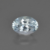 thumb image of 0.8ct Oval Facet Light Blue Aquamarine (ID: 424987)