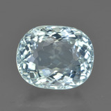 thumb image of 4.7ct Oval Portuguese-Cut Greenish Blue Aquamarine (ID: 450911)