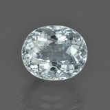 thumb image of 5.3ct Oval Portuguese-Cut Light Blue Aquamarine (ID: 453032)