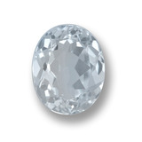thumb image of 2.3ct Oval Facet Light Blue Aquamarine (ID: 459216)