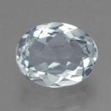 thumb image of 2.1ct Oval Facet Light Blue Aquamarine (ID: 459225)