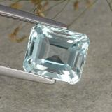 thumb image of 2.7ct Octagon Step Cut Light Blue Aquamarine (ID: 486935)