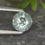 thumb image of 0.3ct Round Facet Light Green Blue Aquamarine (ID: 494981)