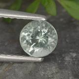 thumb image of 0.5ct Round Facet Light Green Blue Aquamarine (ID: 494983)