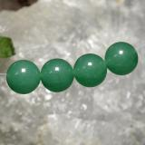 thumb image of 28.1ct Drilled Sphere Green Aventurine (ID: 469994)