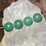 thumb image of 26.6ct Drilled Sphere Green Aventurine (ID: 470026)