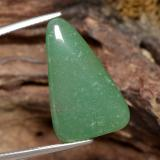 thumb image of 13.4ct Trillion Cabochon Green Aventurine (ID: 470872)