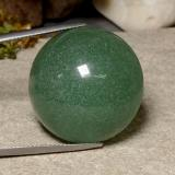 thumb image of 48.5ct Round Cabochon Green Aventurine (ID: 485121)