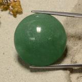 thumb image of 48.4ct Round Cabochon Green Aventurine (ID: 485200)