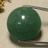 thumb image of 50.6ct Round Cabochon Green Aventurine (ID: 485205)