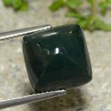 thumb image of 8.4ct Square Sugarloaf Cabochon Green Bloodstone (ID: 474364)