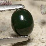 thumb image of 0.4ct Oval Cabochon Green Bloodstone (ID: 477080)