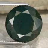 thumb image of 11.3ct Round Facet Spotted Green Bloodstone (ID: 478347)