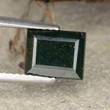 thumb image of 1.9ct Baguette Step Cut Spotted Green Bloodstone (ID: 482873)