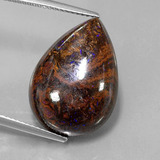 thumb image of 16.9ct Pear Cabochon Multicolor Boulder Opal (ID: 321837)