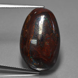 thumb image of 25.6ct Fancy Cabochon Multicolor Boulder Opal (ID: 420753)