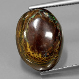 thumb image of 11.6ct Fancy Cabochon Multicolor Boulder Opal (ID: 420778)