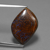thumb image of 9.6ct Fancy Cabochon Multicolor Boulder Opal (ID: 449595)