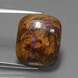 thumb image of 12.4ct Cushion Cabochon Multicolor Boulder Opal (ID: 449598)
