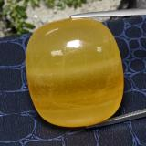 thumb image of 100.9ct Cushion Cabochon Orange Calcite (ID: 469314)