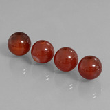 thumb image of 29.6ct Drilled Sphere Brownish Red Carnelian (ID: 434862)