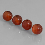 thumb image of 29ct Drilled Sphere Brownish Red Carnelian (ID: 434864)