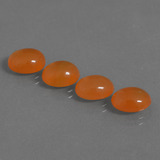 thumb image of 7.9ct Oval Cabochon Orange Carnelian (ID: 436802)