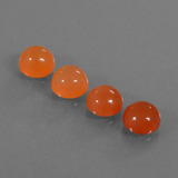 thumb image of 4.2ct Round Cabochon Red Orange Carnelian (ID: 438113)