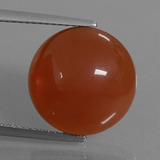 thumb image of 8.7ct Round Cabochon Orange Carnelian (ID: 446771)
