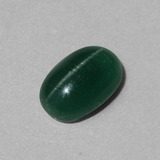thumb image of 3.1ct Oval Cabochon Green Cat's Eye Apatite (ID: 443013)