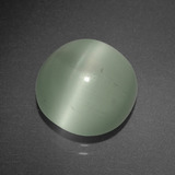 thumb image of 4.9ct Round Cabochon Blue-Green Cat's Eye Aquamarine (ID: 395659)