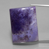 thumb image of 45.4ct Baguette Cabochon Violet Charoite (ID: 434833)