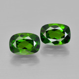 thumb image of 2ct Cushion-Cut Green Chrome Diopside (ID: 417450)