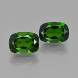 thumb image of 2ct Cushion-Cut Green Chrome Diopside (ID: 417452)