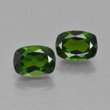 thumb image of 1.9ct Cushion-Cut Green Chrome Diopside (ID: 417457)