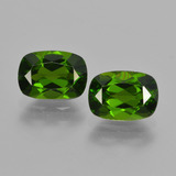 thumb image of 1.9ct Cushion-Cut Green Chrome Diopside (ID: 417714)