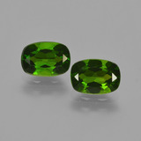 thumb image of 1.9ct Cushion-Cut Green Chrome Diopside (ID: 417723)